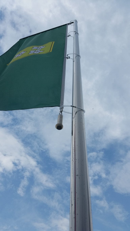 jarboli za zastave - inox