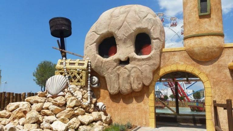 Theming na portalu u zabavnom parku